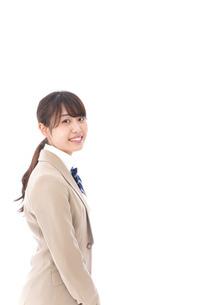 制服を着た笑顔の学生の写真素材 [FYI04709452]