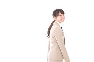 制服を着た笑顔の学生の写真素材 [FYI04709459]