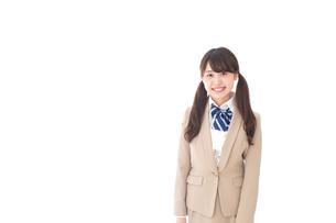 笑顔の中学生・高校生の写真素材 [FYI04709520]