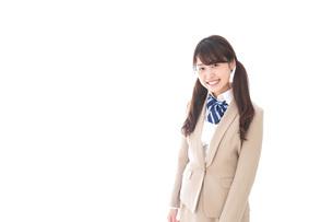 笑顔の中学生・高校生の写真素材 [FYI04709524]