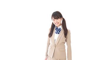 笑顔の中学生・高校生の写真素材 [FYI04709527]