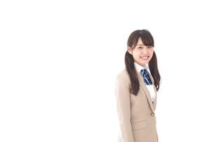 笑顔の中学生・高校生の写真素材 [FYI04709529]