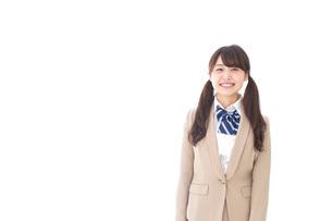 笑顔の中学生・高校生の写真素材 [FYI04709534]