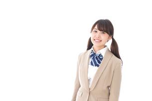 笑顔の中学生・高校生の写真素材 [FYI04709540]