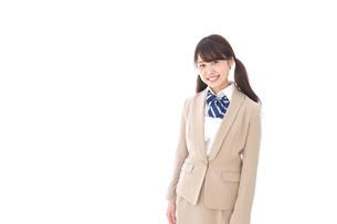 笑顔の中学生・高校生の写真素材 [FYI04709542]