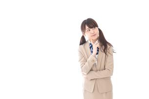 思春期・悩みごとの写真素材 [FYI04709572]