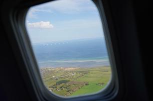 飛行機から眺める風景の写真素材 [FYI04709992]