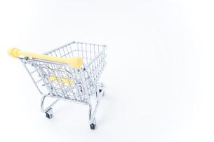 ショッピングカートの写真素材 [FYI04710107]