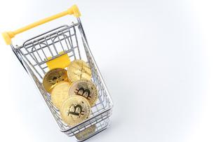 ビットコインの写真素材 [FYI04710115]