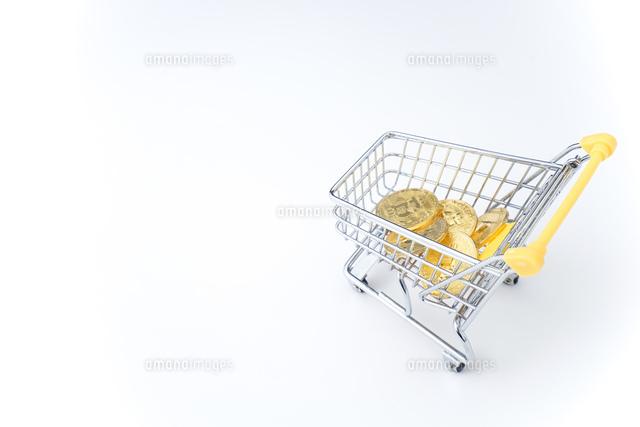 ビットコインの写真素材 [FYI04710116]
