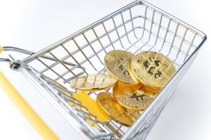 ビットコインの写真素材 [FYI04710119]