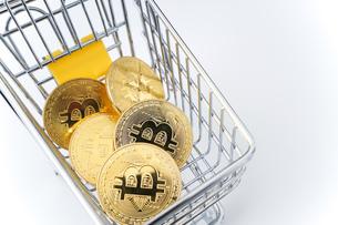 ビットコインの写真素材 [FYI04710123]