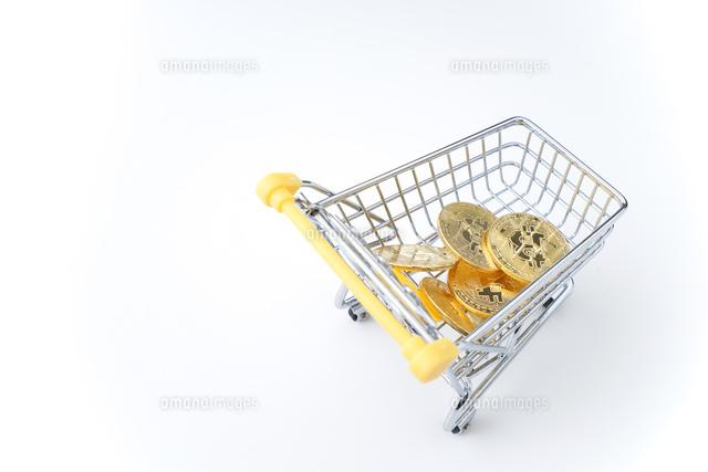 ビットコインの写真素材 [FYI04710127]