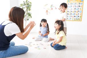 子供の英語教室の写真素材 [FYI04710495]