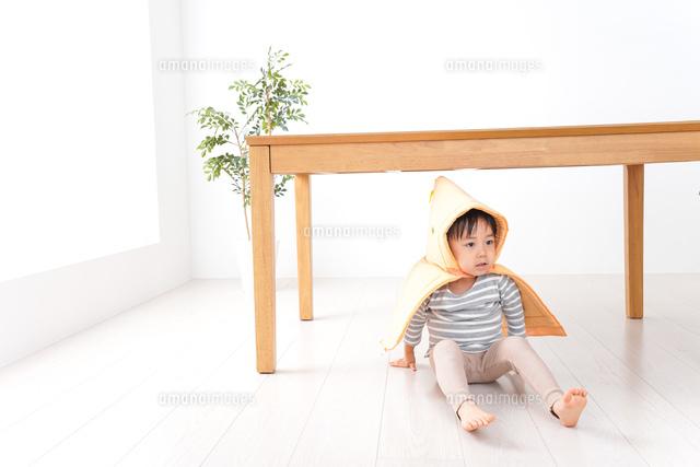 子供の災害対策の写真素材 [FYI04710969]