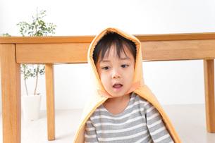 防災頭巾の写真素材 [FYI04710974]
