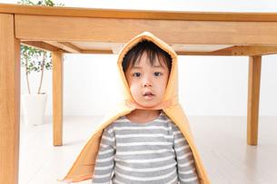 防災頭巾の写真素材 [FYI04710978]
