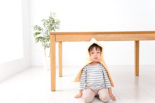 子供の災害対策の写真素材 [FYI04710979]