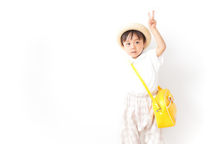 幼稚園児・入園の写真素材 [FYI04710998]