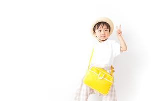 幼稚園児・入園の写真素材 [FYI04711002]