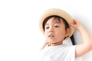 幼稚園に行く子供の写真素材 [FYI04711003]