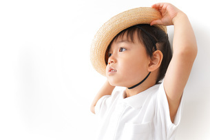 幼稚園児・入園の写真素材 [FYI04711004]