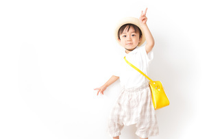 幼稚園児・入園の写真素材 [FYI04711009]