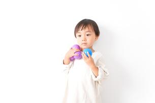 やんちゃな男の子の写真素材 [FYI04711133]