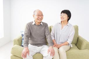 老夫婦の写真素材 [FYI04711331]