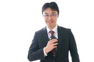 ビジネスマンの写真素材 [FYI04711350]