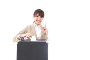 選挙・投票・演説の写真素材 [FYI04711438]