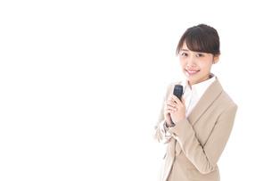 司会・プレゼンの写真素材 [FYI04711480]