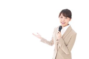 司会・プレゼンの写真素材 [FYI04711483]