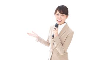 司会・プレゼンの写真素材 [FYI04711484]