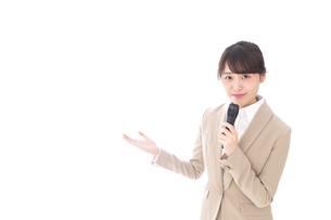 司会・プレゼンの写真素材 [FYI04711487]