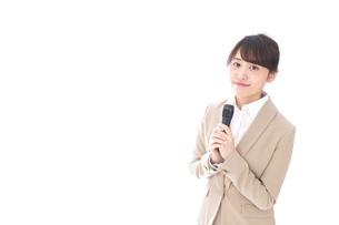 司会・プレゼンの写真素材 [FYI04711488]