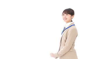笑顔の若いビジネスウーマンの写真素材 [FYI04711789]