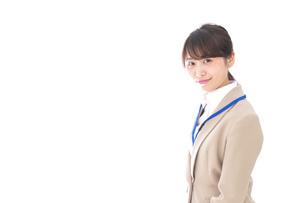 笑顔の若いビジネスウーマンの写真素材 [FYI04711797]