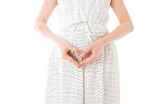 妊娠した若い女性の写真素材 [FYI04711934]