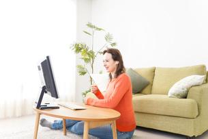オンライン英会話・インターネット授業・ネイティブ英会話イメージの写真素材 [FYI04712245]