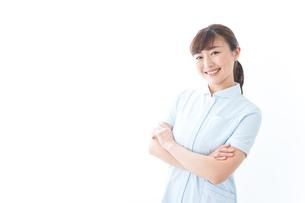 自信がある若い看護師の写真素材 [FYI04713181]