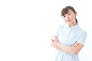 自信がある若い看護師の写真素材 [FYI04713184]