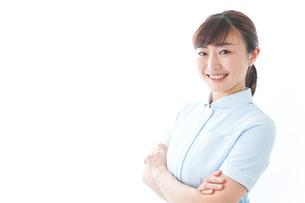 自信がある若い看護師の写真素材 [FYI04713191]