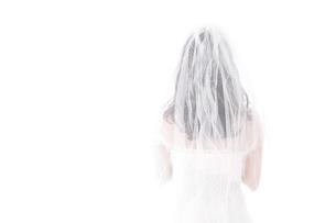 花嫁ポートレートの写真素材 [FYI04714813]
