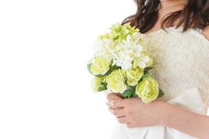ブーケを持つ花嫁の写真素材 [FYI04716247]
