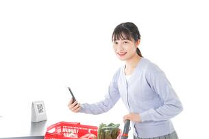 消費増税・キャッシュレス・軽減税率イメージの写真素材 [FYI04716495]