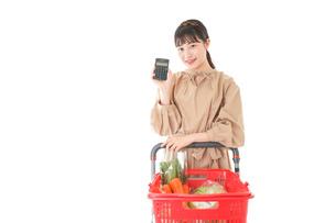 家計・主婦・買い物イメージの写真素材 [FYI04716950]