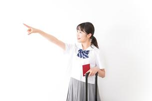 海外留学・修学旅行をする若い女子高校生の写真素材 [FYI04717948]