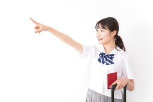 海外留学・修学旅行をする若い女子高校生の写真素材 [FYI04717953]