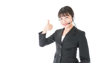 オペレーター・お客様相談室の女性の写真素材 [FYI04719131]
